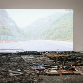 """15 Installation view of """"The Start of a Long Journey – 2014 CAFA Excellent Graduation Works Exhibition"""""""