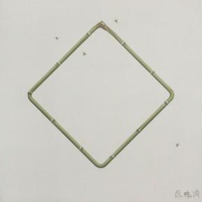 "16 Wu Didi Still life Bamboo No.5 2014 Oil on canvas 100x80cm 290x290 - Chambers Fine Art Beijing presents ""Shi Jing & Wu Didi"""