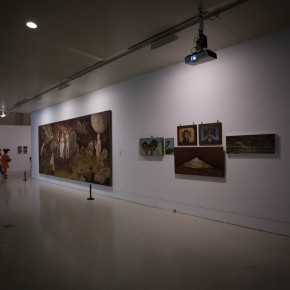 """17 Installation view of """"The Start of a Long Journey – 2014 CAFA Excellent Graduation Works Exhibition"""""""