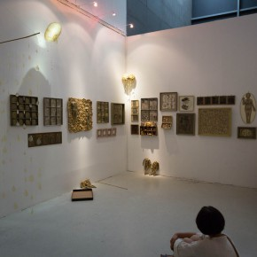 """18 Installation view of """"The Start of a Long Journey – 2014 CAFA Excellent Graduation Works Exhibition"""""""