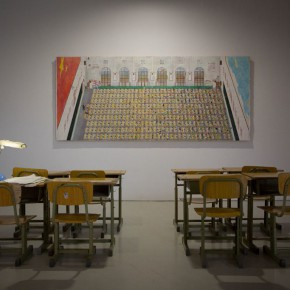 """20 Installation view of """"The Start of a Long Journey – 2014 CAFA Excellent Graduation Works Exhibition"""""""
