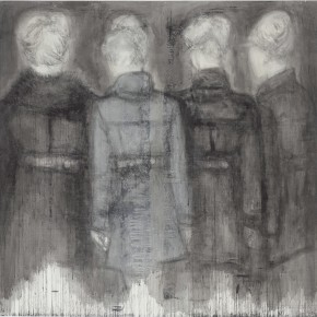 20 Wang Yu Emptyness 2014 Ink on paper 200×200cm 290x290 - Harmony in Diversity: Academic Exhibition of Qi She Arts Opening at The Hive Centre for Contemporary Art