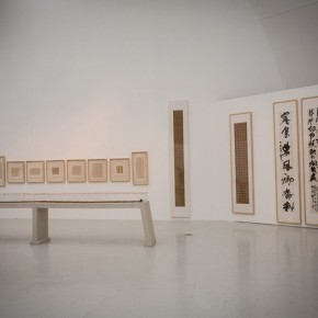 """23 Installation view of """"The Start of a Long Journey – 2014 CAFA Excellent Graduation Works Exhibition"""""""
