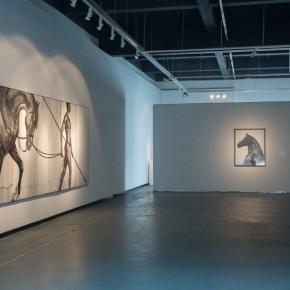 """25 Installation view of """"A New Context Derived From Shuimo"""" exhibition 1 290x290 - """"A New Context Derived From Shuimo"""" – Sishang Art Museum Experimental Plan in the Second Round is Unveiled"""