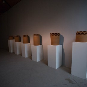 """27 Installation view of """"The Start of a Long Journey – 2014 CAFA Excellent Graduation Works Exhibition"""""""