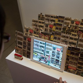 """48 Installation view of """"The Start of a Long Journey – 2014 CAFA Excellent Graduation Works Exhibition"""""""