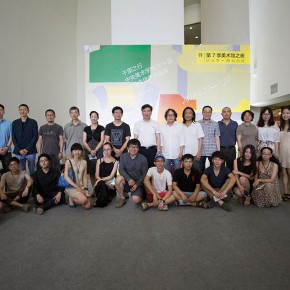 """50 Installation view of """"The Start of a Long Journey – 2014 CAFA Excellent Graduation Works Exhibition"""""""