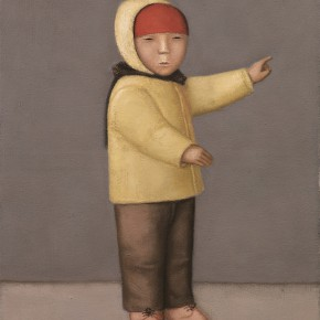 Duan Jianwei, A Child, 2012; Oil on canvas, 100×80cm
