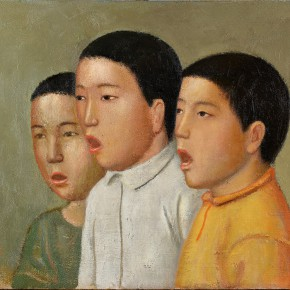 Duan Jianwei, Chorus, 2013; Oil on canvas, 45×60cm