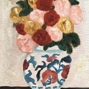 Duan Jianwei, Flower, 1999; Oil on canvas, 24×17cm
