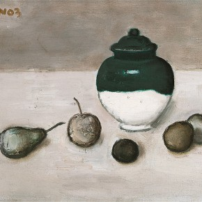 Duan Jianwei, Still Life, 2003; Oil on canvas, 27×35cm