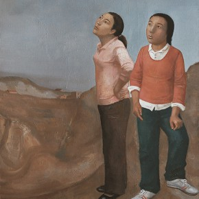 Duan Jianwei, Two Women, 2009; Oil on canvas, 180×120cm