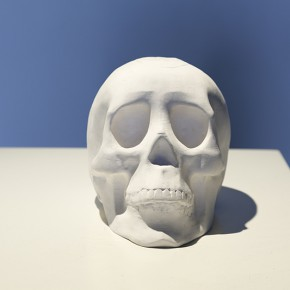 "Li Hongbo Skull 2012 paper dimensions variable 290x290 - Group Exhibition of ""Jiang Qi 3"" on View at Red Gate Gallery"