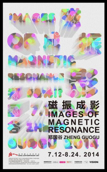Poster of Images of Magnetic Resonance Zheng Guogu Solo Exhibition