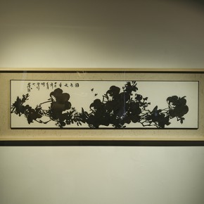 "Wei Ming Restoration Painting No.1 2014 Rice paper ink and pencil 35x138cm  290x290 - Group Exhibition of ""Jiang Qi 3"" on View at Red Gate Gallery"