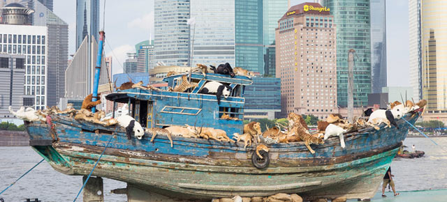 """Upcoming exhibition of Cai Guo-Qiang – """"The Ninth Wave"""" opens August 8 at Power Station of Art"""