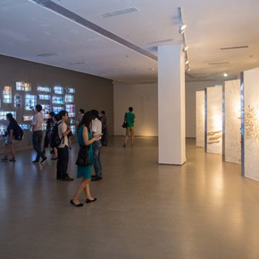 The Section of Experimental Art at the 12th National Art Exhibition Unveiled as it initially enters the system
