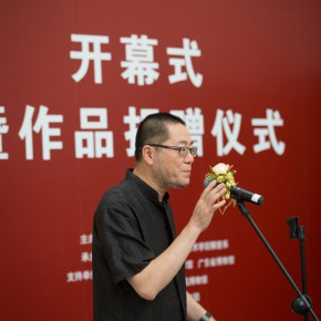 "02 Wang Huangsheng chaired the opening ceremony 290x290 - Exhibition of ""Casting Temperature— Second-Generation Chinese Sculptor Situ Jie"" Opened  at CAFAM"