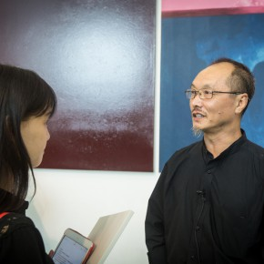 03 Director of the Department of Experimental Art, CAFA, Deputy Director of the Experimental Art Committee at the China Artists Association Lv Shengzhong was interviewed by CAFA ART INFO