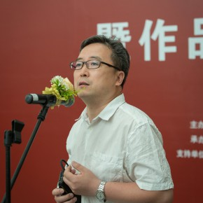 04 Curator Cao Qinghui addressed 290x290 - Double Finesse of Art and Emotion: Exhibition by Situ Qiao Unveiled at CAFA Art Museum