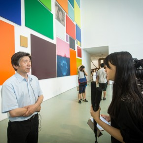 05 Vice Chairman of China Artists Association, Director of National Art Museum of China Fan Di'an was interviewed by CAFA ART INFO