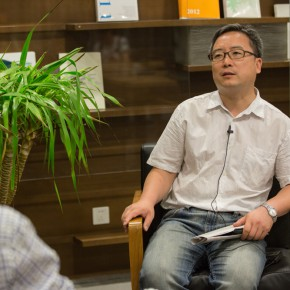 06 Curator Cao Qinghui was interviewd by CAFA ART INFO 290x290 - Double Finesse of Art and Emotion: Exhibition by Situ Qiao Unveiled at CAFA Art Museum