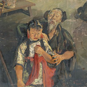 """06 Situ Qiao """"Put Down Your Whip"""" oil on canvas 124 x 177 cm 1940 collected by National Art Museum of China 290x290 - """"Painting With Tears – Love and Hate in Situ Qiao's Art World"""": Interview with Curator Cao Qinghui"""