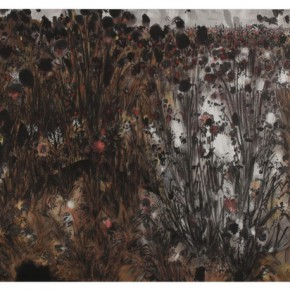 "07 Liu Jvde ""Grass Kua Fu"" 141 x 362 cm 2012  290x290 - Yuan Yunfu and ""Tsinghua University Art Group"" Works Invitational Exhibition"