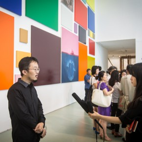 10 Liu Libin was interviewed by CAFA ART INFO
