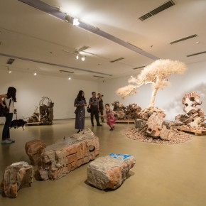 17 Installation view of the 12th National Art Exhibition