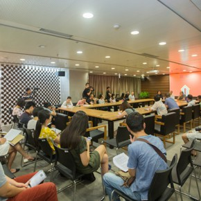 19 The Press Conference 290x290 - Ten Years in One Inspection – CAFA Achievements Exhibition on Experimental Art at CAFAM