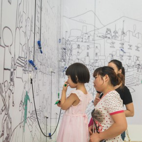 23 Audience visited the exhibition 290x290 - Ten Years in One Inspection – CAFA Achievements Exhibition on Experimental Art at CAFAM