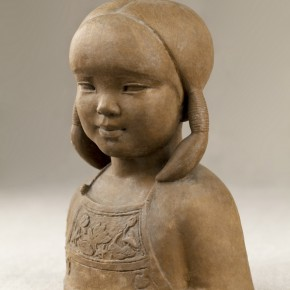 "32 Situ Jie Rongrong 1956 Bronze 25cm x 19cm x 13cm 290x290 - Exhibition of ""Casting Temperature— Second-Generation Chinese Sculptor Situ Jie"" Opened  at CAFAM"