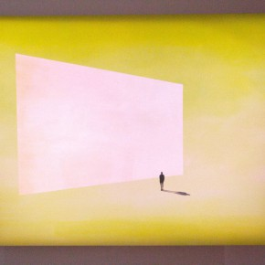 """Brilliant Orange Screen from Hybrid Human Series by Wanda Koop 290x290 - Xi'an Art Museum presents """"The Transformation of Landscape Art in Canada: Inside and Outside of Being"""""""