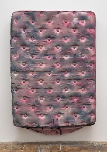 Kaari Upson, 8:16PM, 2013; Silicone 203 x 152 x 25 cm