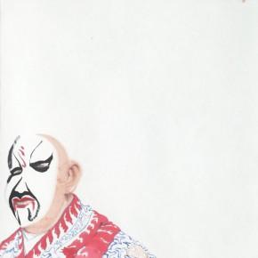 """Li Fan,""""Sheng Yi""""seires-Untitled, 2010; watercolor, 46.5×42.5cm (2)"""