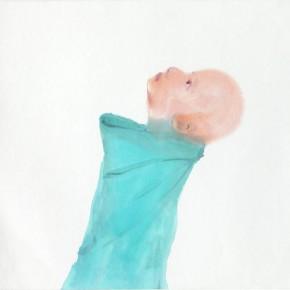 """Li Fan,""""Sheng Yi""""seires-Untitled, 2010; watercolor, 46.5×42.5cm"""
