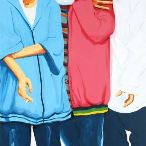 Li Fan, Addiction, 2007; paint on canvas, 300×200cm