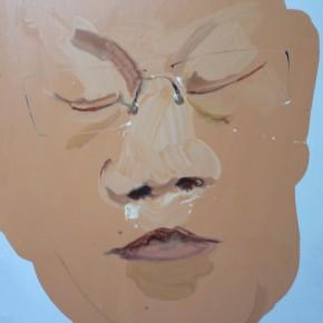 Li Fan, An Intellectual, 2006; paint on linen, 80x60cm