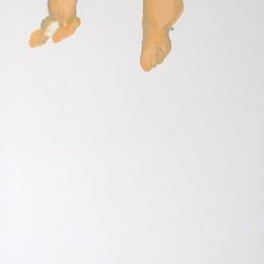 Li Fan, Hydrotherapy, 2008; Paint on linen, 90x250cm