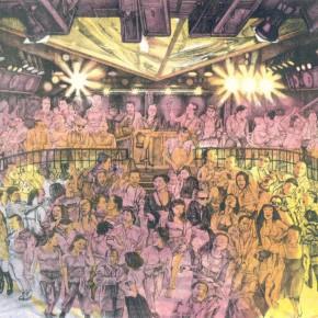 Li Fan, Night Lie, 1995; lithograph, 46.5x39.5cm