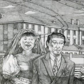 Li Fan, Of the Same Sex, 1998; lithograph, 40×51cm