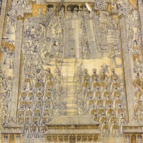Li Fan, Royal Drama, 1998; lithograph, 46.5x39.5cm