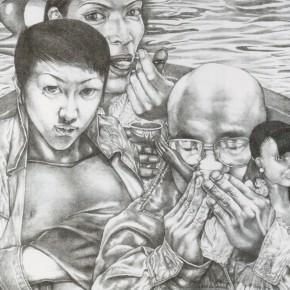 Li Fan, The Opposite Sex, 1998; lithograph,  46×51cm