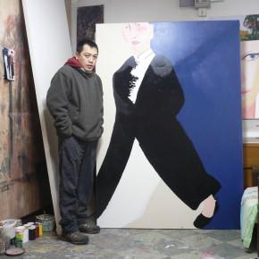 Li Fan at His Studio