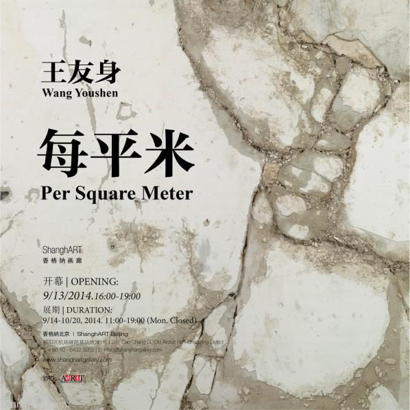 Poster of Wang Youshen Per Square Meter