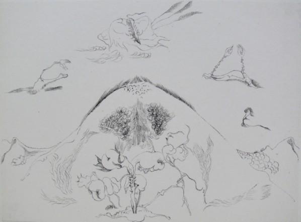 Shen Ruijun, Encounter (Local) Water and ink on paper 22x30.5cm 2005