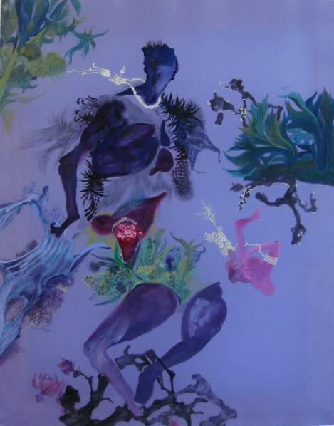 Shen Ruijun, Memories of Florence No.1 media 41x51cm 2008