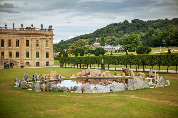 """Tao Hua Yuan A Lost Village Utopia"" is presented at Chatsworth Garden"