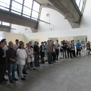 """02 Installation view of the opening ceremony of """"Today I Blossom – Tongxi Xiaochan's Unrestrained Poetry and Painting""""  290x290 - """"Today I Blossom – Tongxi Xiaochan's Unrestrained Poetry and Painting"""" Opened at 798 Art Center"""